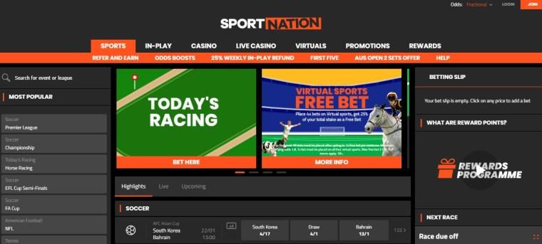 Sportnation Cheltenham Betting Offers