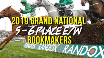 Which bookies are paying 5 places or even 6 on the Grand National?