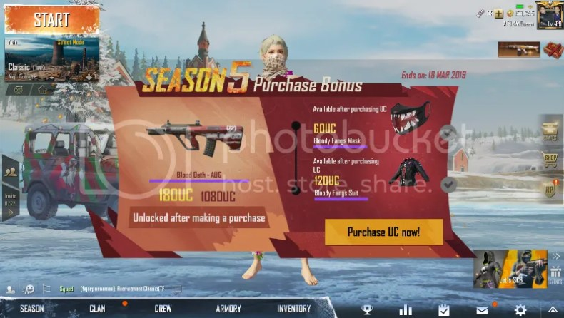 Upgrade Royal Pass PUBG Mobile Dengan Top Up di Razer Pin