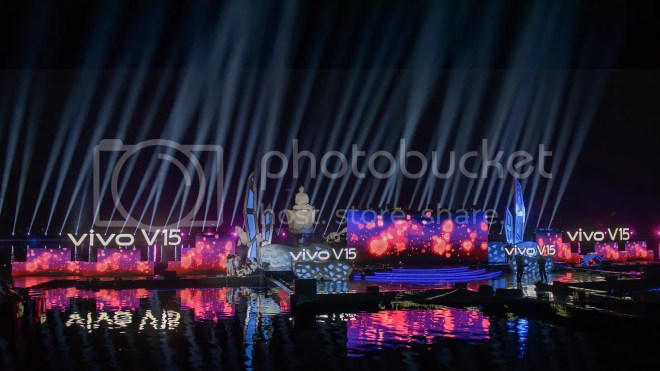 Vivo V15 Go Up Grand Launch at Taman Air Mancur Sri Baduga, Purwakarta-2