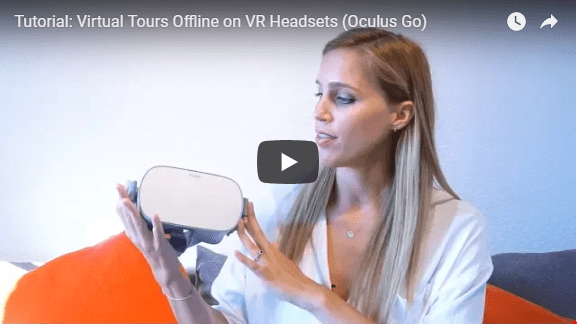 How Can I watch Virtual Tours offline on my Oculus Go?