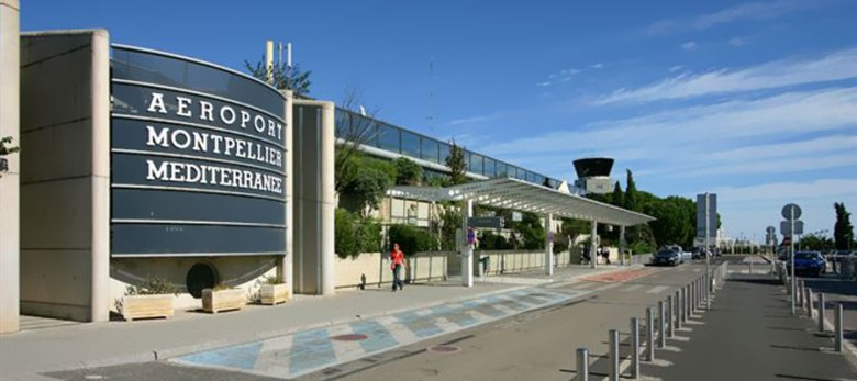 bâtiment aéroport de montpellier