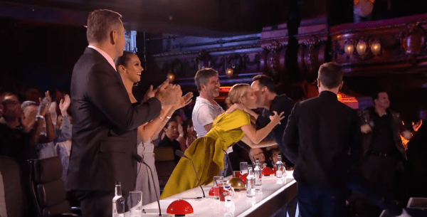 Ant And Dec Use Golden Buzzer On Britain's Got Talent ...