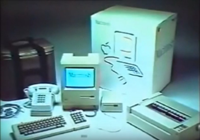 Steve Jobs Unveiled the Apple Macintosh 34 Years Ago. Credit: YouTube