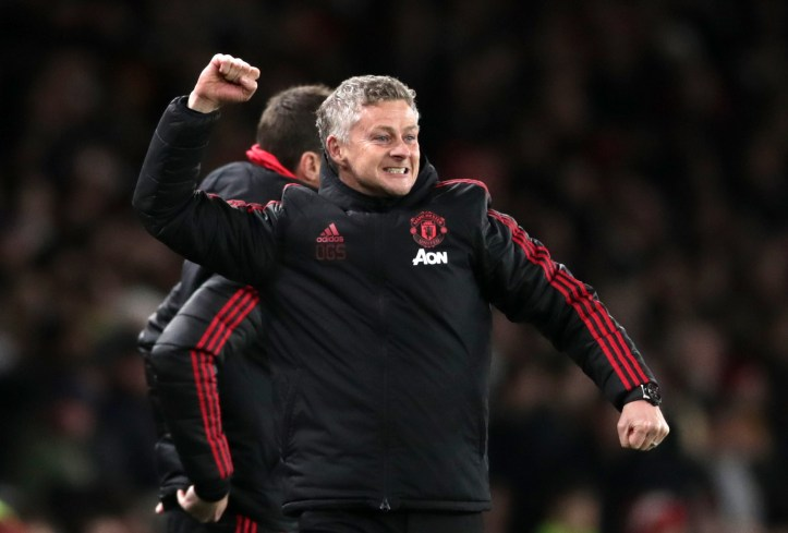 Solskjaer can be very pleased with his start. Image: PA Images