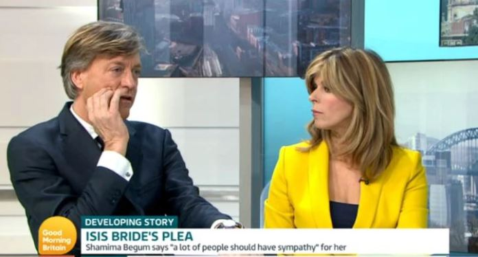 Richard blamed the internet for radicalising Begum. Credit: ITV/Good Morning Britain