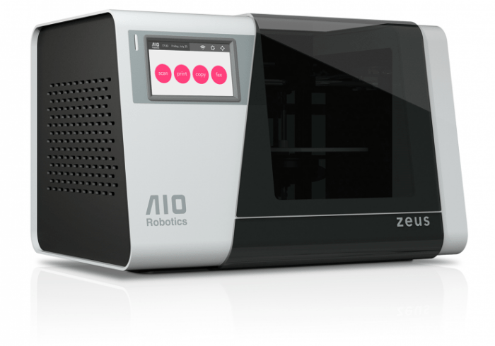Zeus The First 3D Printer And 3D Scanner In One gadgetzz