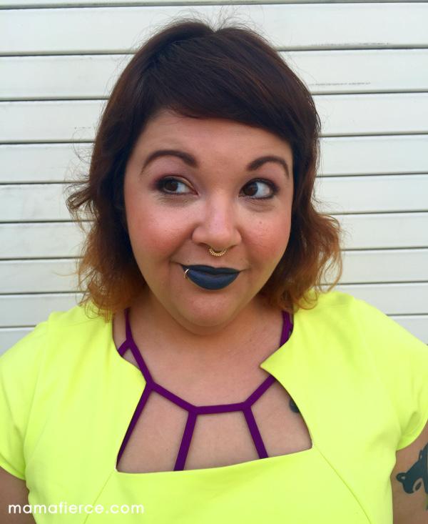 Gray lipstick MOTD