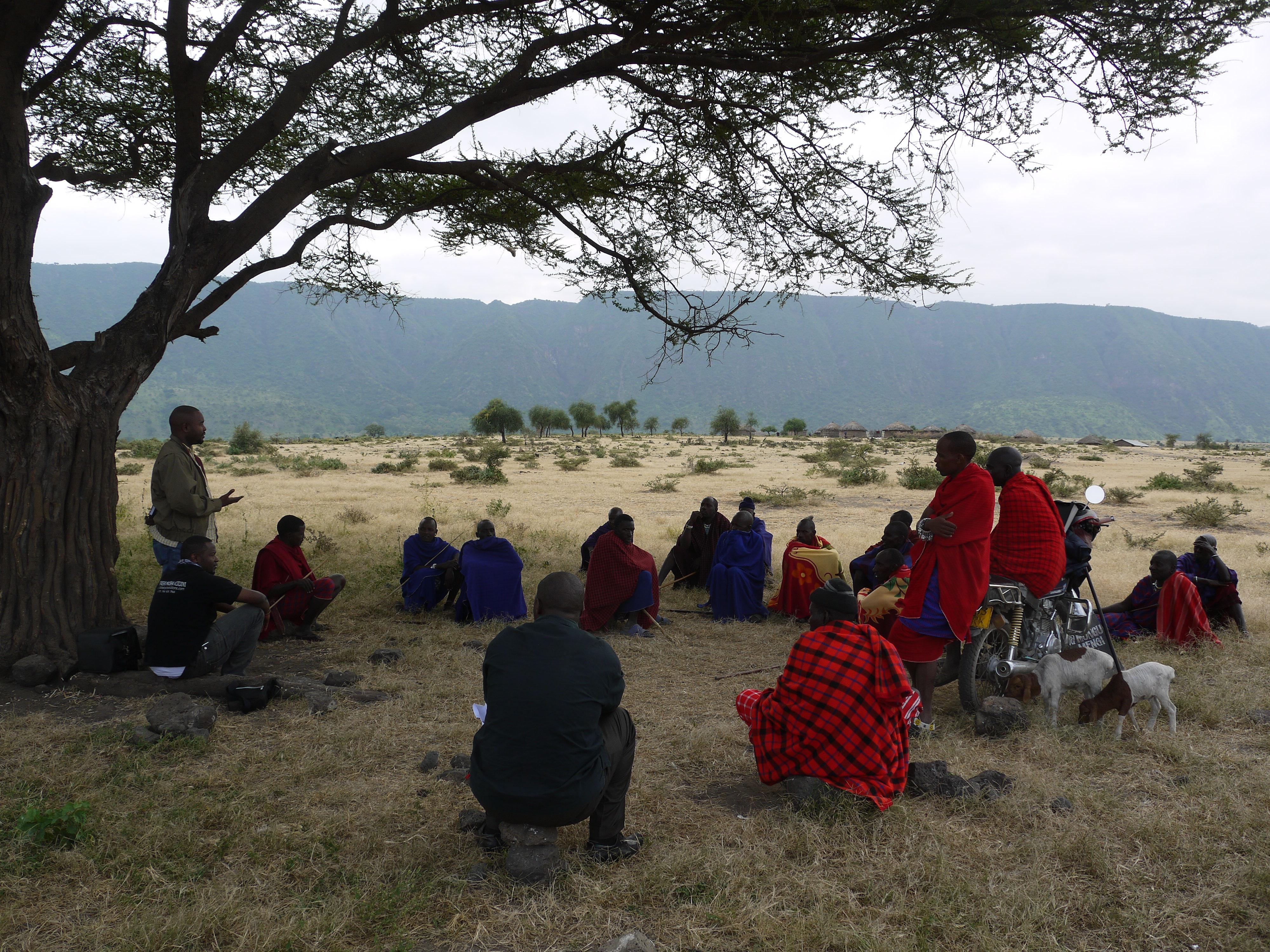 """Recruiting """"Rafiki"""" in northern Tanzania"""