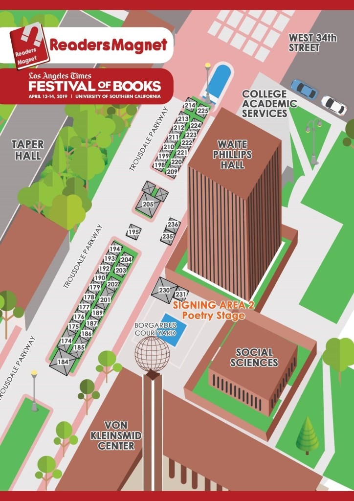 ReadersMagnet Official Guide: 2019 LA Times Festival of Books