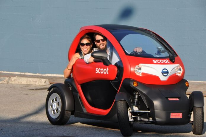 Scoot Unleashes New Four Wheeler Quad Cars On San Francisco Streets Techcrunch