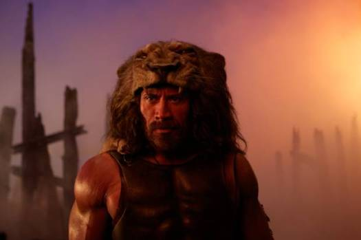 Dwayne Johnson as Hercules in