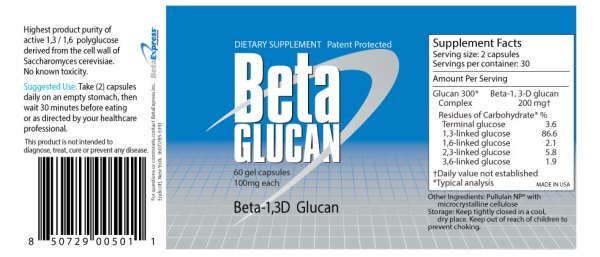 beta glucan 100mg betaexpress pills - Our Products