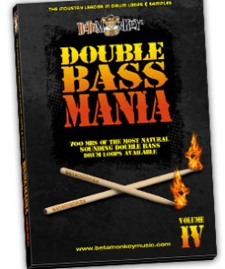Metal Drum Loops - Double Bass Mania IV