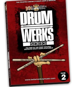 Hard rock drum loops - Drum Werks II Reloaded