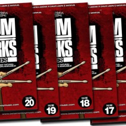 Get powerful rock drum tracks with this massive collection of rock drum loops