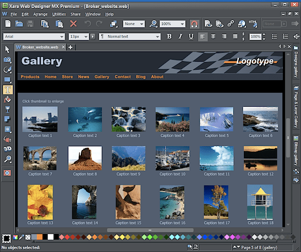 Xara Web Designer MX 8 Premium review