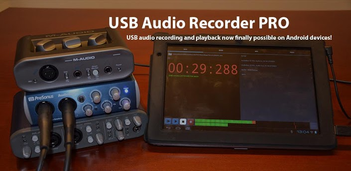 Now You Can Record To Your Android Device Via Usb Audio