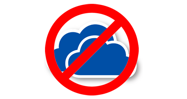 No OneDrive Windows 10