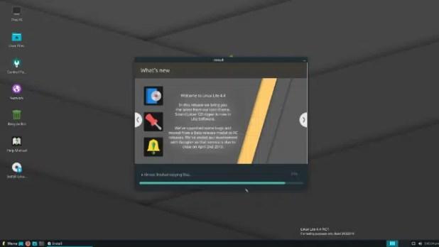 La distribution Linux lite 4.4 est à la porte de remplacer le système d'exploitation windows sur les vieux ordinateurs