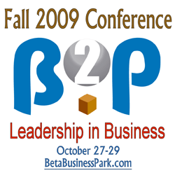 B2P Fall 2009 Conference