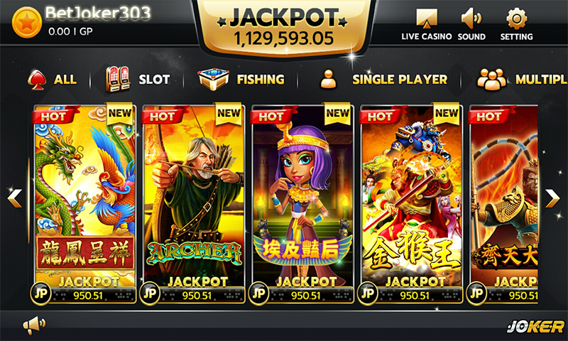 Agen Joker123 | Slot Games Joker123 | BetJoker303