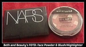 Beth and Beauty's FOTD Face Powder and Blush 03302014