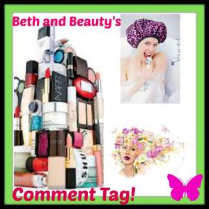 Beth and Beauty's Funday Friday Comment Tag!
