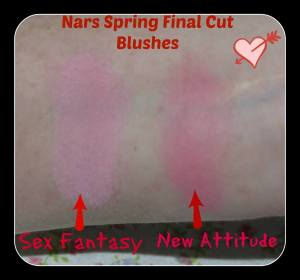 Nars Spring Final Cut Blushes Swatches 2014