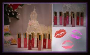 The Tarte of Giving Collector Set's 8 Maracuja Lipglosses