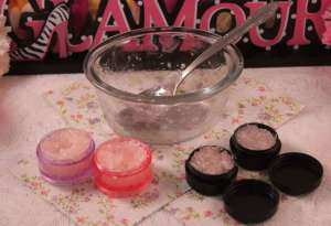 Beth and Beauty 101: DIY Lip Scrub Completed
