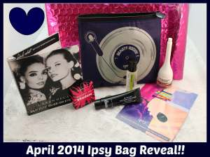Beth and Beauty's April 2014 Ipsy Bag Reveal
