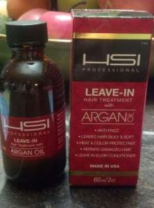 Beth and Beauty's Review of HSI Professional Leave-In Argan Oil
