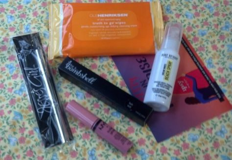 Ipsy Glam Bag Beauty Products for June 2014