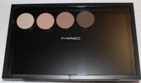 MAC Z Palette and Single Eye Shadows
