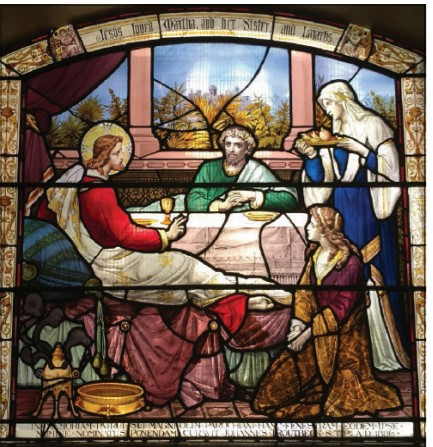 Marta, Maria e Lázaro - hospedeiros de Jesus