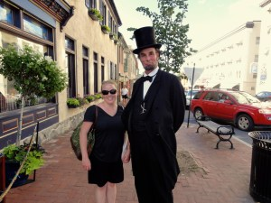 Photo op with an evangelical Lincoln