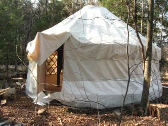 a and e's yurt!
