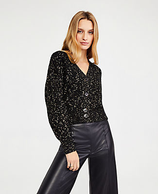 ATshimmer cropped cardi - Your Best Holiday Style