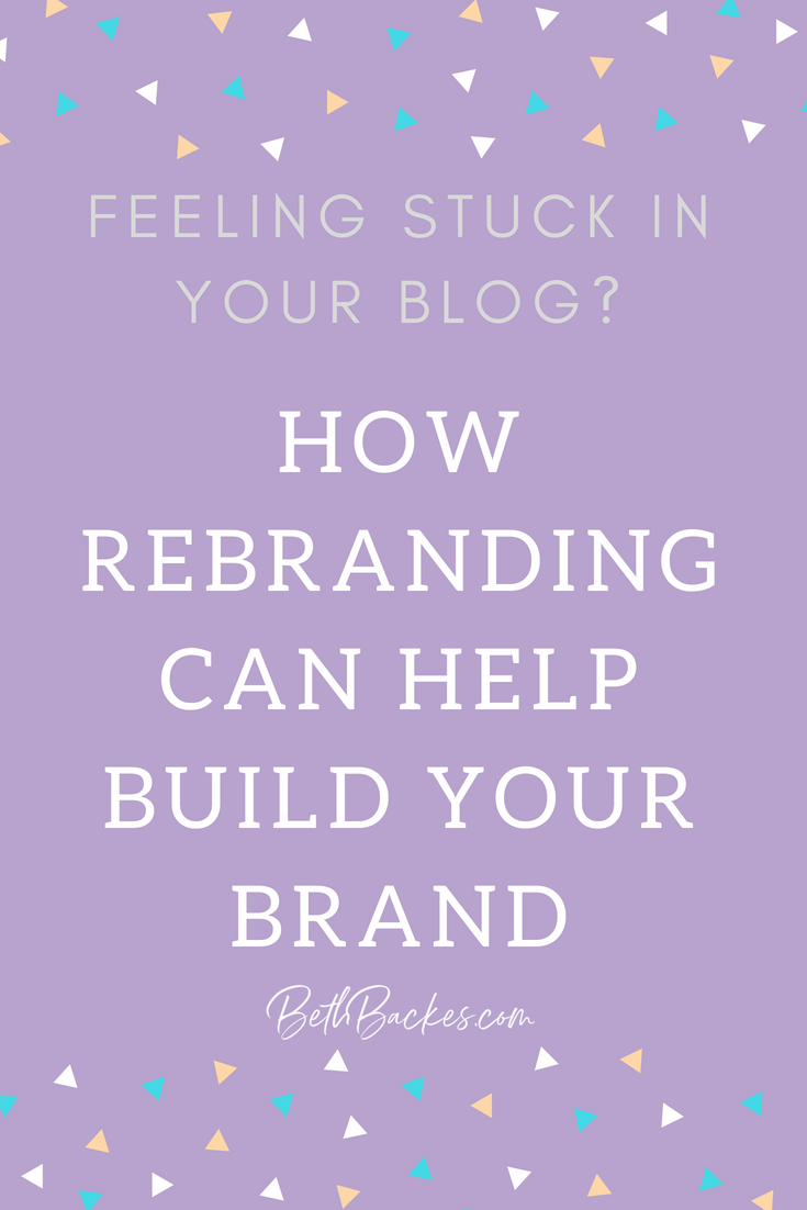 Sometimes you just need to ditch your original plan and get a fresh new look. See how one blogger rebranded to get after her goals and build a blog that she is proud of.