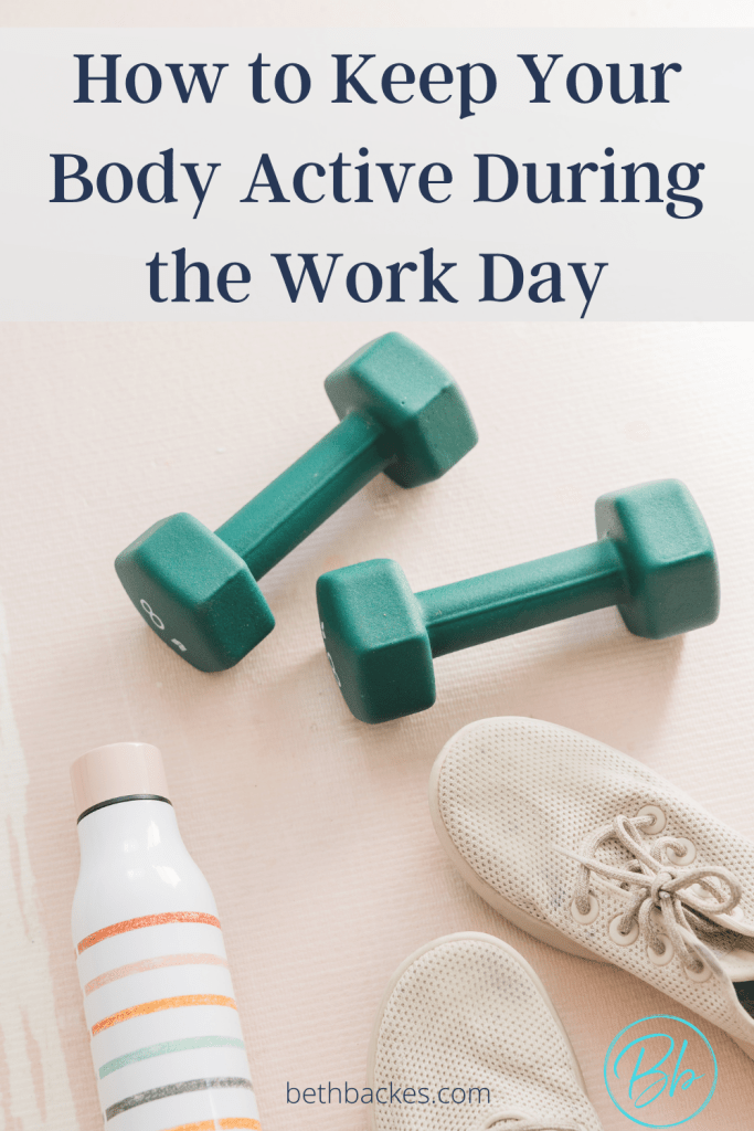 Doing basic moves throughout the day is ideal, especially if you're sitting at a desk for long hours. You don't have to put pressure on yourself to fit in an entire workout if your daily schedule doesn't go as planned. Check out some of my quick tips for adding movement and checking your posture while we work the day shift.