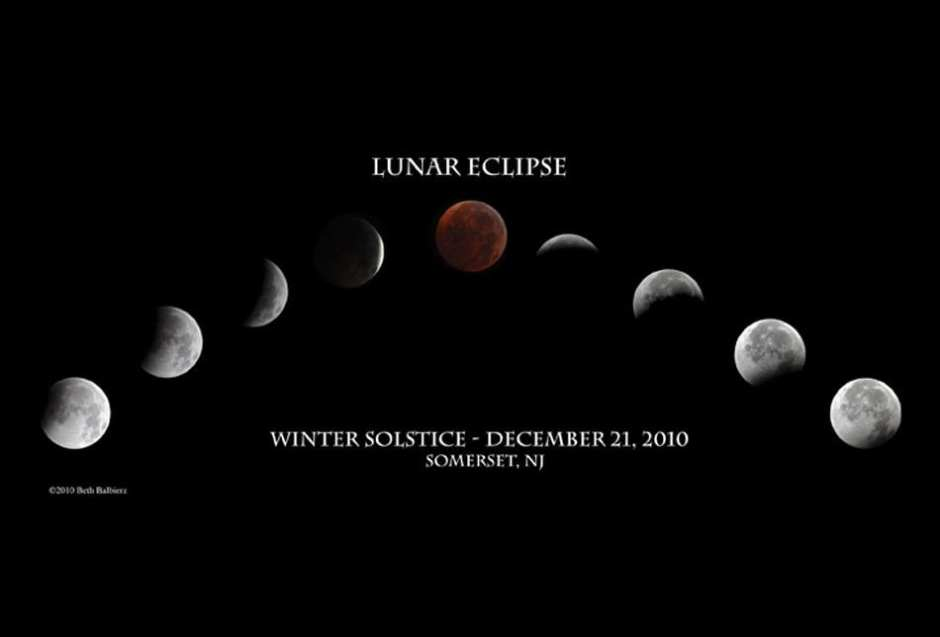 Lunar Eclipse ©2010 Beth Balbierz www.bethbalbierz.com