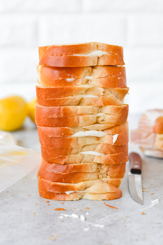meyer lemon cheesecake french toast - bethcakes.com