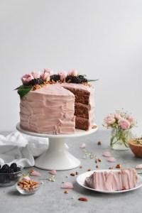 blackberry jam cake - bethcakes.com