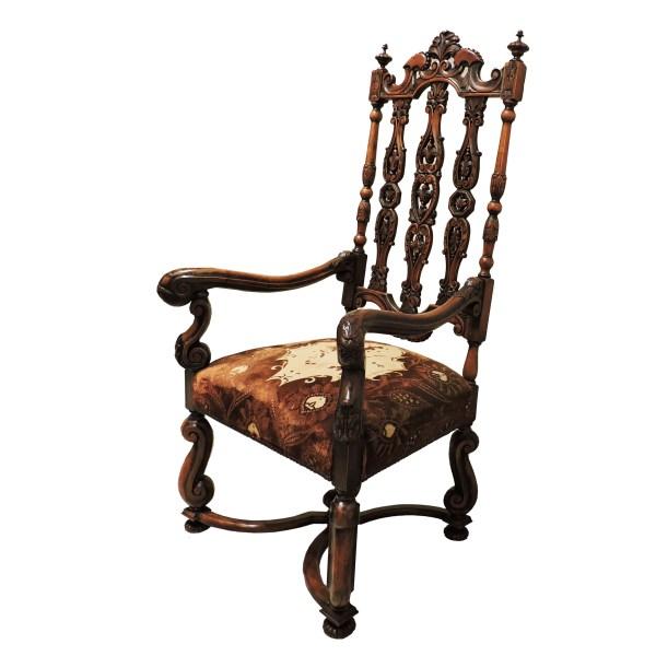antique Throne Chair