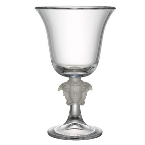 Medusa Lumiere Crystal Footed Vase