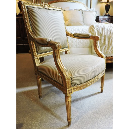 antique Giltwood Gold Chair