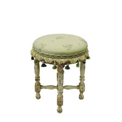 antique Round Tabouret