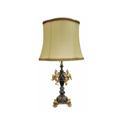 24 Karat Gold Bronze Lamp