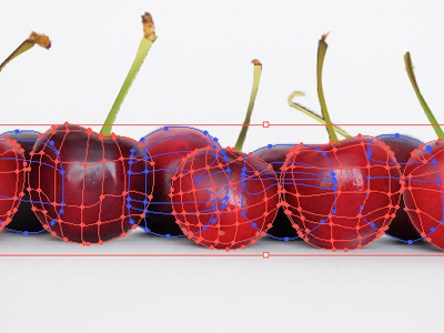 Gradient Mesh Cherries Screenshot